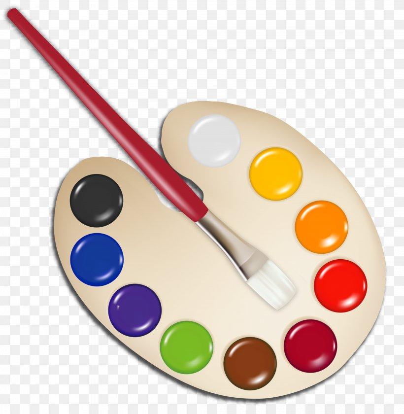 Palette Paintbrush Clip Art, PNG, 4032x4132px, Palette, Art.