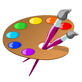 Artist clipart palette, Artist palette Transparent FREE for.