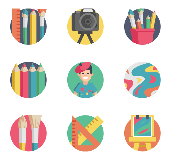 128 artist icon packs.