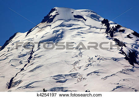 Picture of Mount BakerSnow Mountain From Artist Point Close Up.