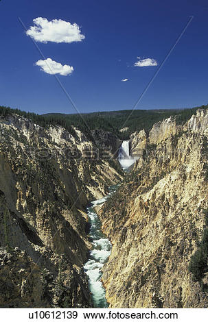 Stock Photograph of Yellowstone National Park, WY, Wyoming.