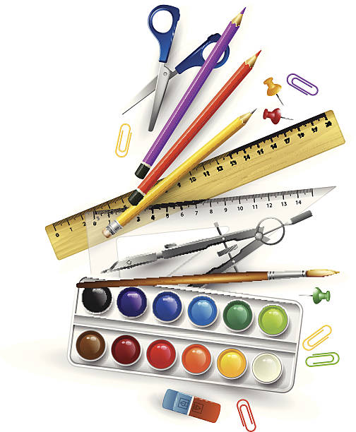 Best Artist Tools Illustrations, Royalty.