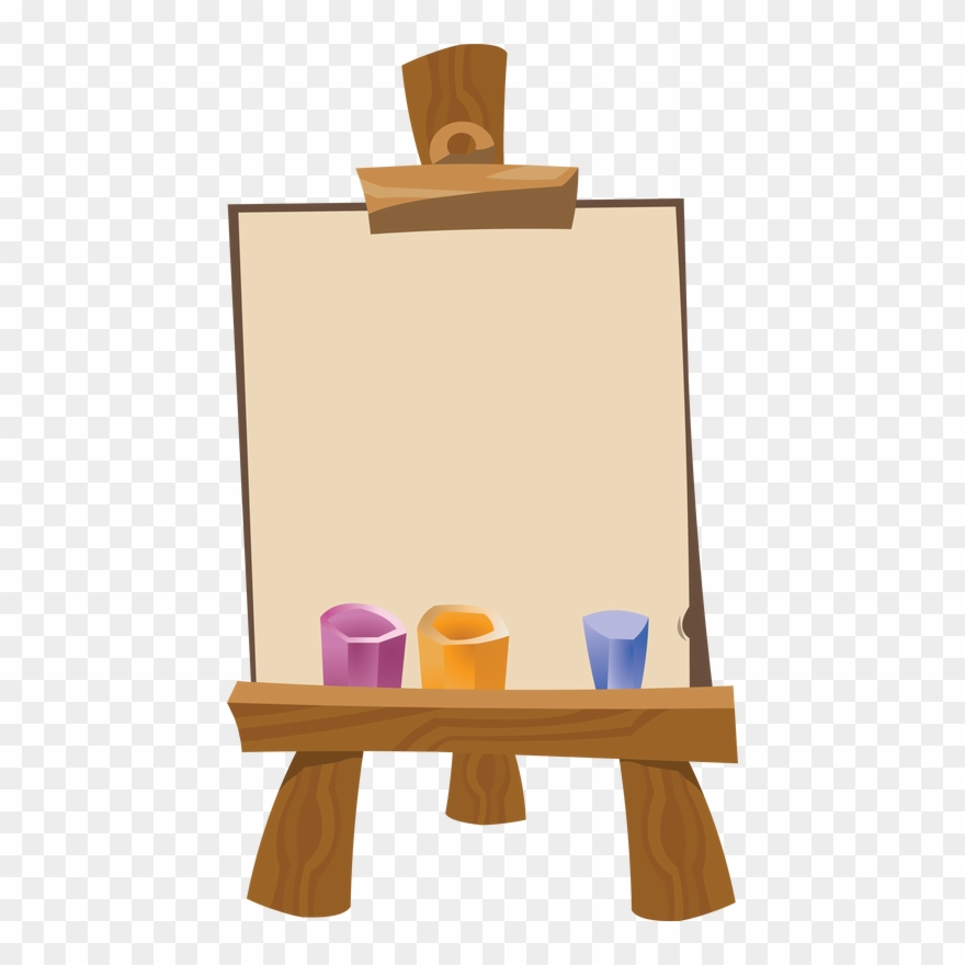 Art Easel Png.