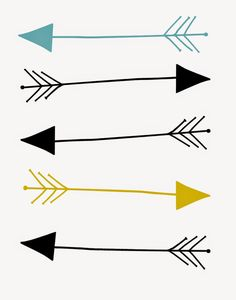 Artistic Arrows.