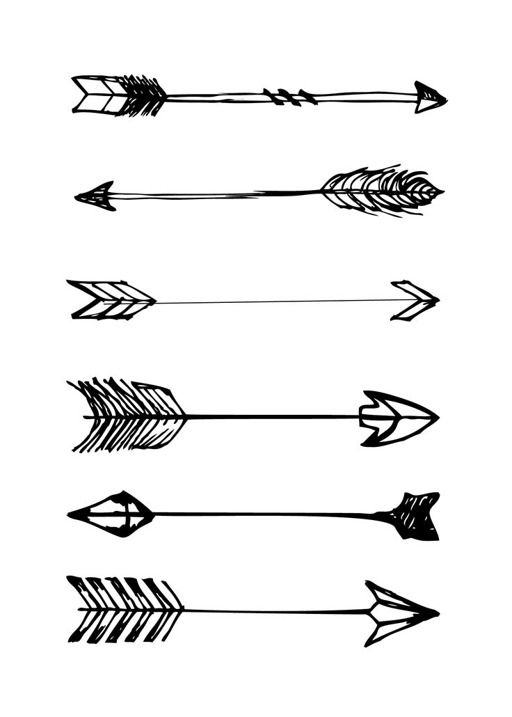 quarter arrow black outline white center clipart - Clipground
