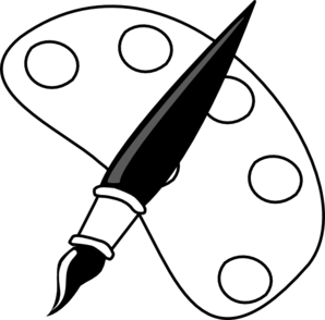Free Black And White Art Clipart.