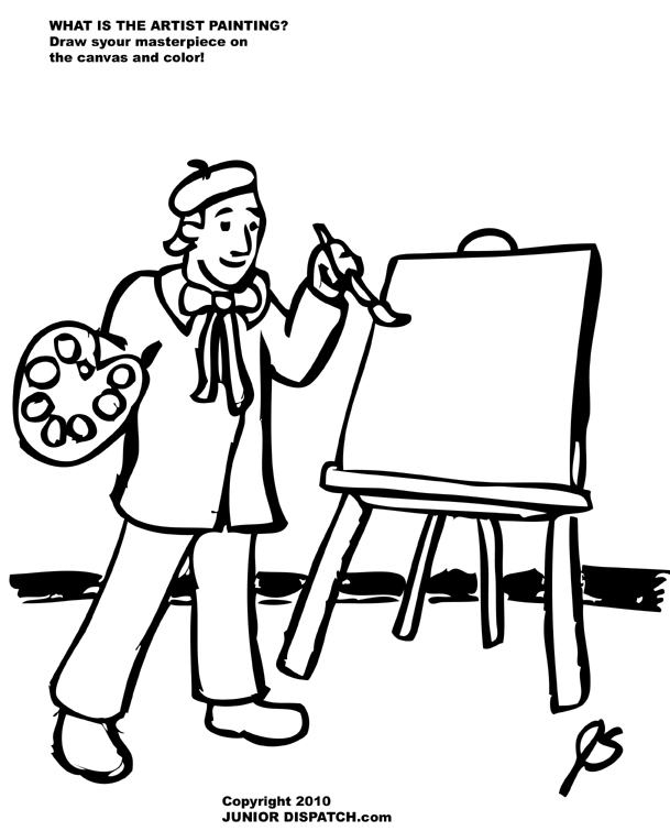Art Coloring Pages.