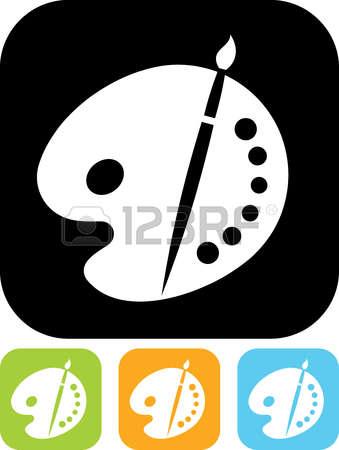 32,280 Color Palette Stock Vector Illustration And Royalty Free.