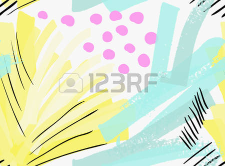 Brushed color clipart.
