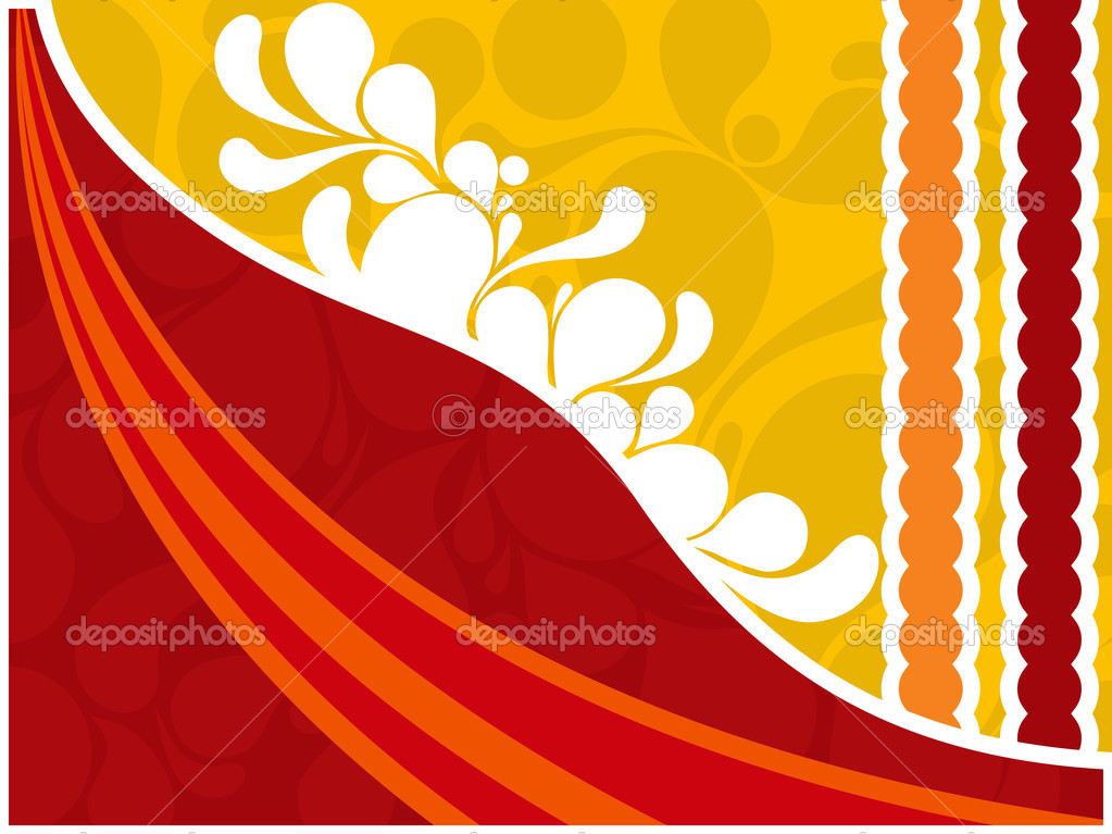 Background with artistic creation — Stock Vector © alliesinteract.