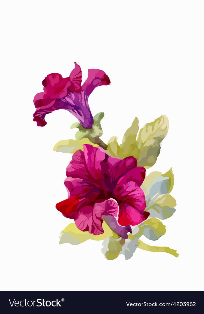 Artistic flower design.