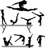 Gymnastics Clip Art.