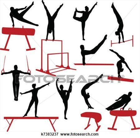 good gymnastics clip art affordable.