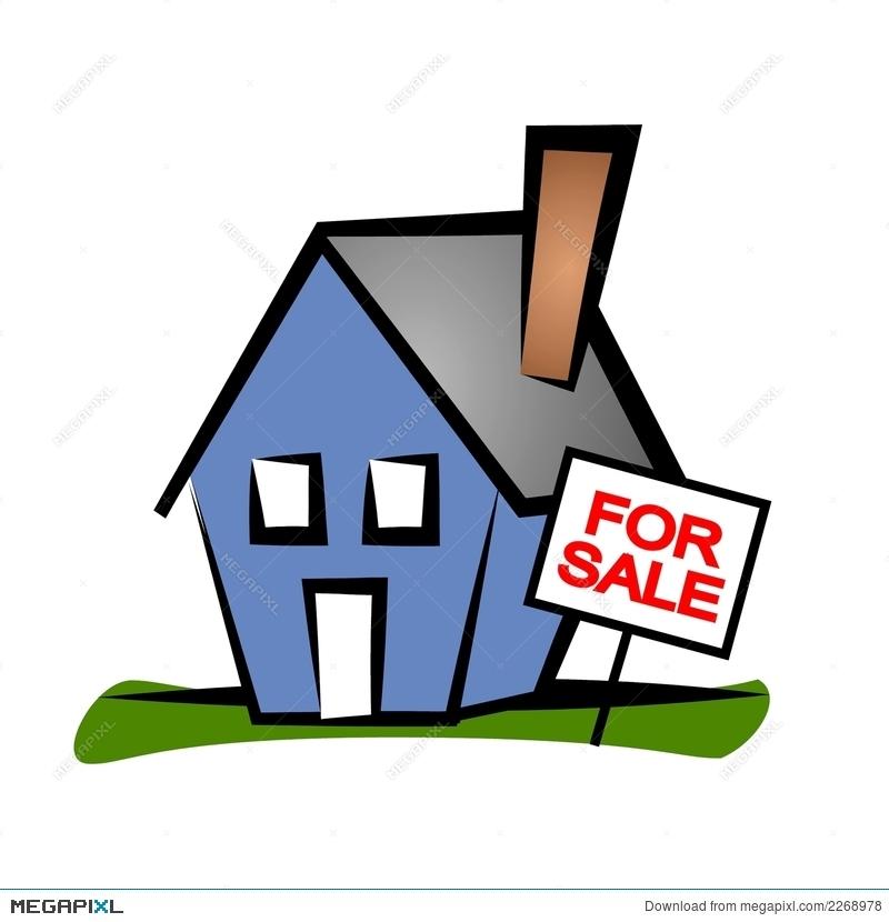 Real Estate Clip Art House 2 Illustration 2268978.
