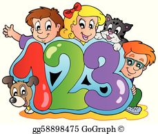 Numbers Clip Art.