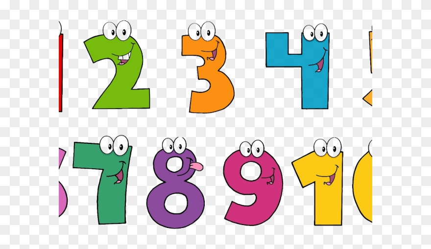Number Clipart Artistic.
