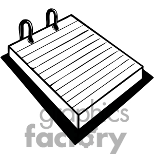 Pad paper clipart 4 » Clipart Station.
