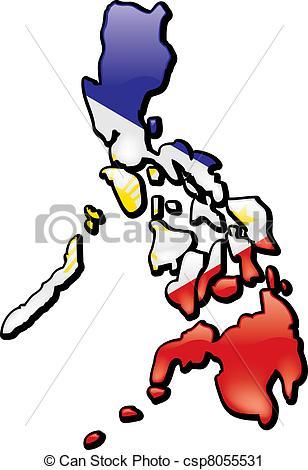 Vector Clip Art of Philipines.