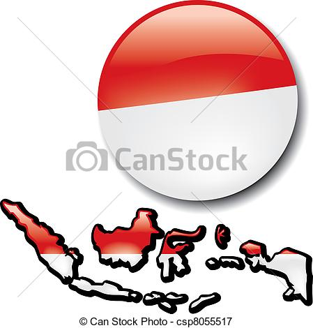 Vectors Illustration of Indonesia.