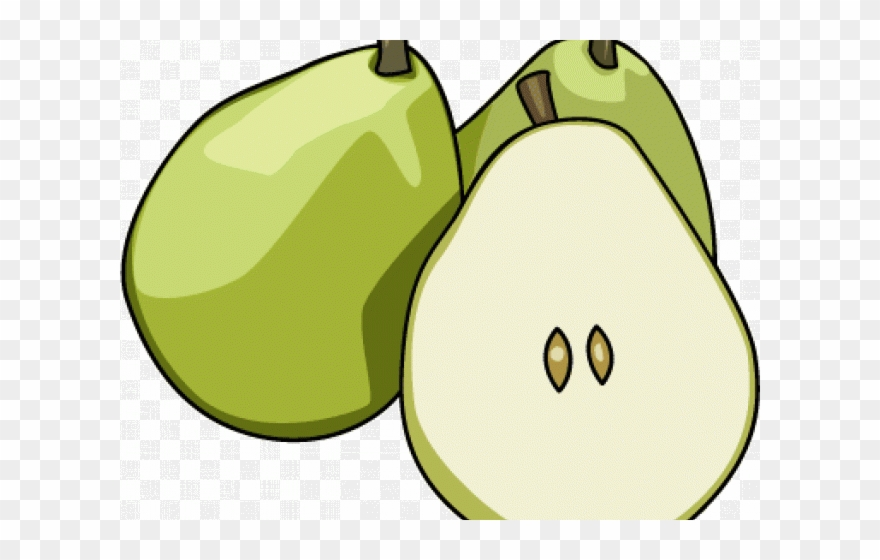 Pear clipart fruit seed, Pear fruit seed Transparent FREE.