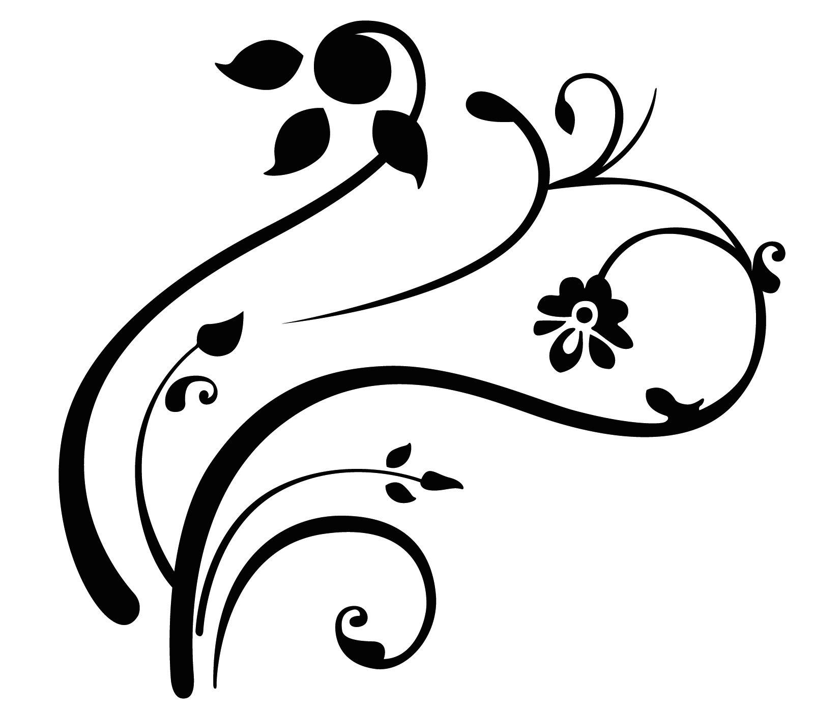 Swirl Designs Clip Art.