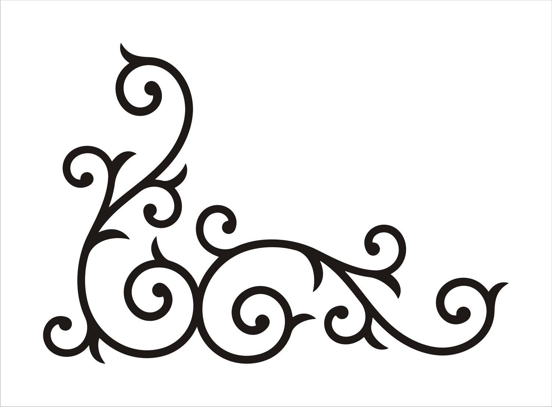 Free Corner Swirls Png, Download Free Clip Art, Free Clip.