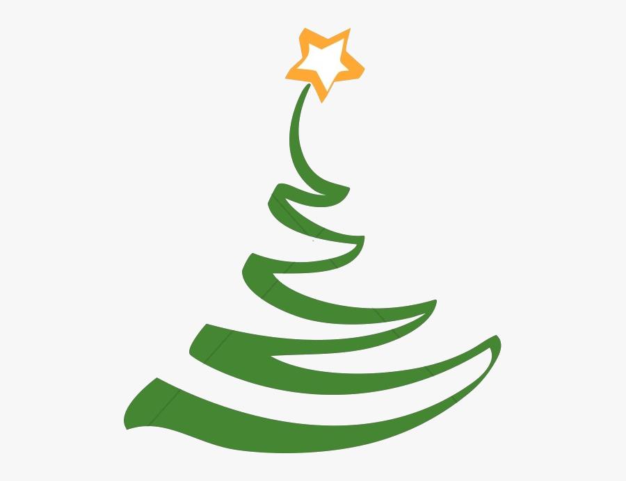 Christmas Simple Artistic Tree Clipart Religious Transparent.