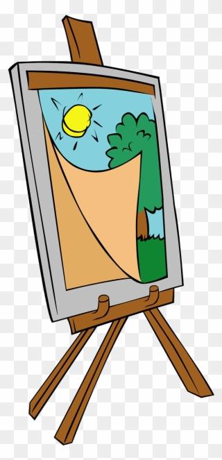 Free PNG Art Easel Clip Art Download.