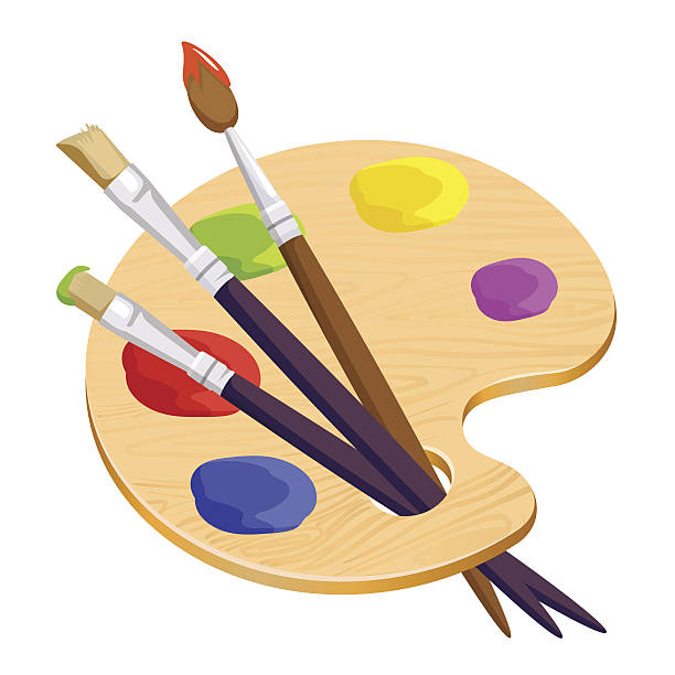 Artists palette clipart 5 » Clipart Station.