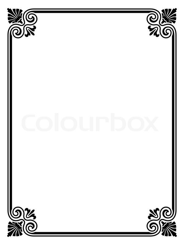 Artists picture frame clipart clipart images gallery for.