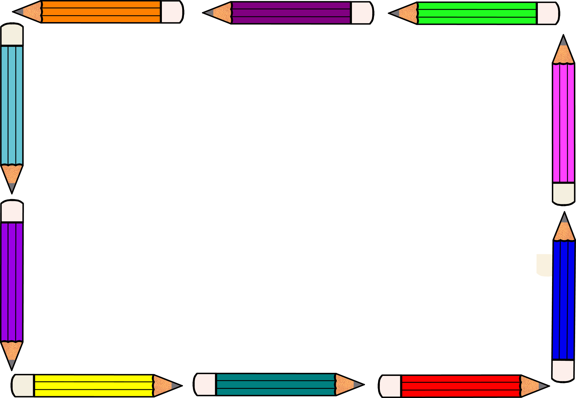 Free Pencil Frame Cliparts, Download Free Clip Art, Free.