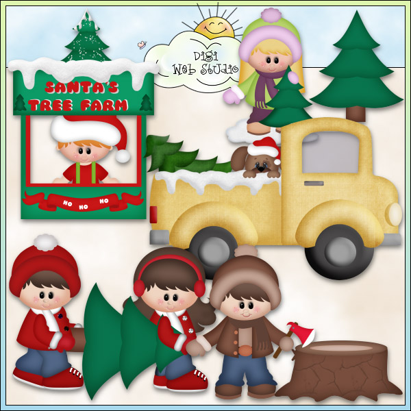 Christmas Village: Santa's Tree Farm 1.