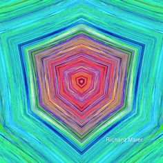 Sierpinski Dreams 1 by Richard Maier #art #fractal #triangle.