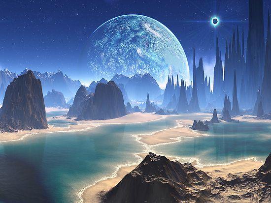 alien worlds pictures.