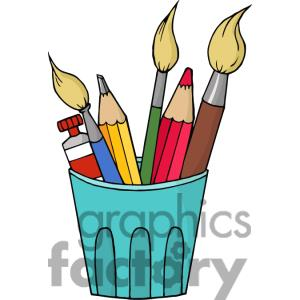 Gallery For Arts And Craft Supplies Clip Art.