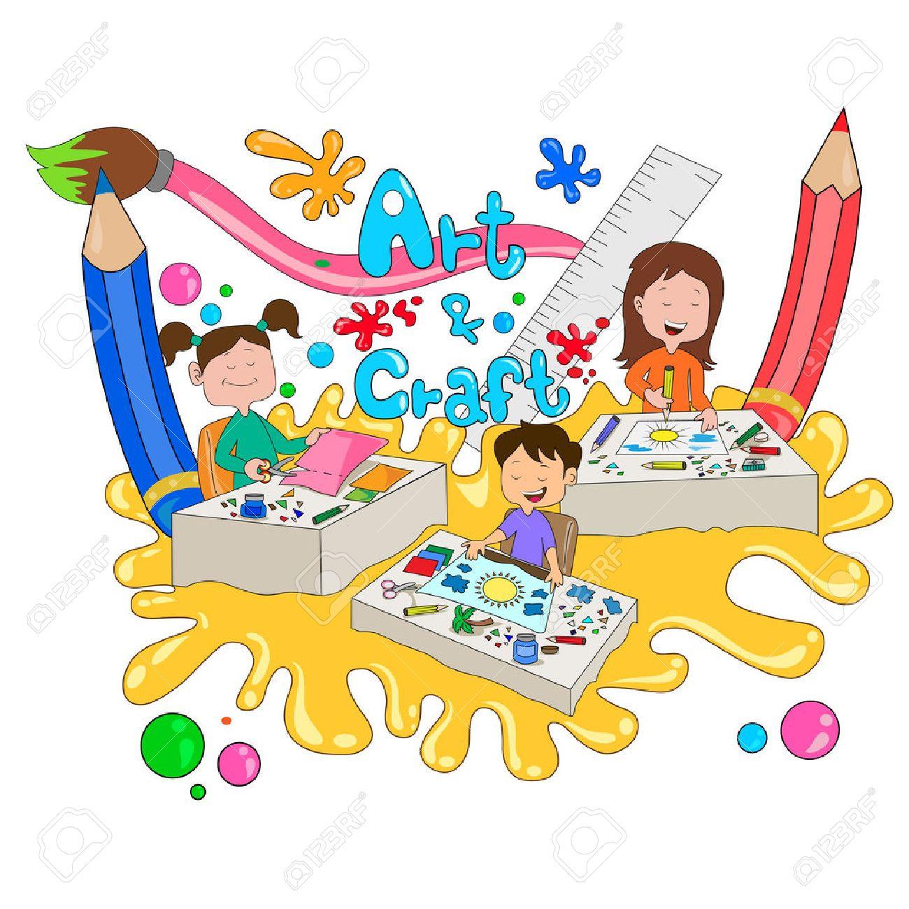 Kids Craft Clipart.