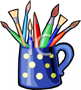 Craft Supplies Clipart.