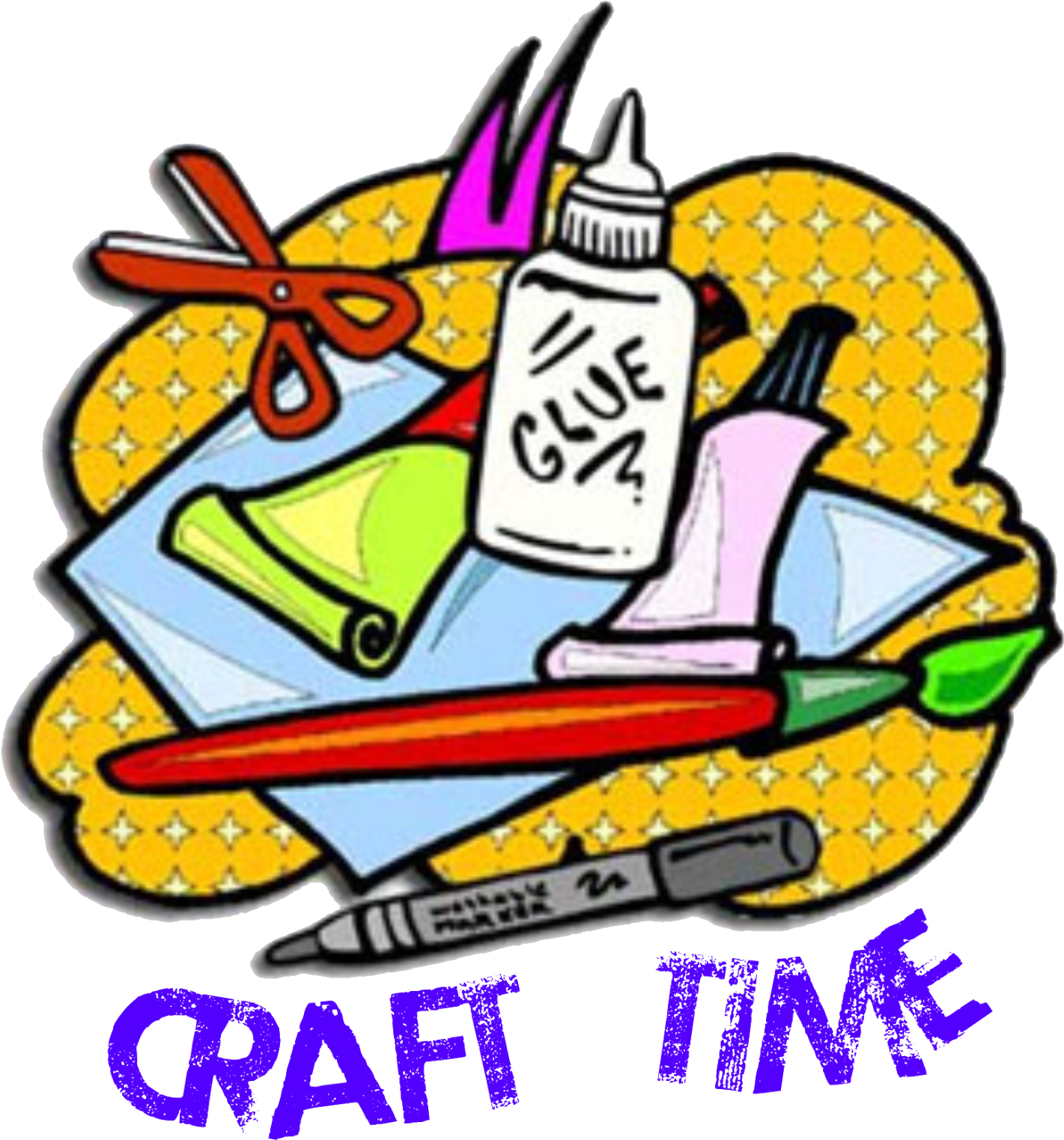 Unique Stem Craft Supplies Clipart.