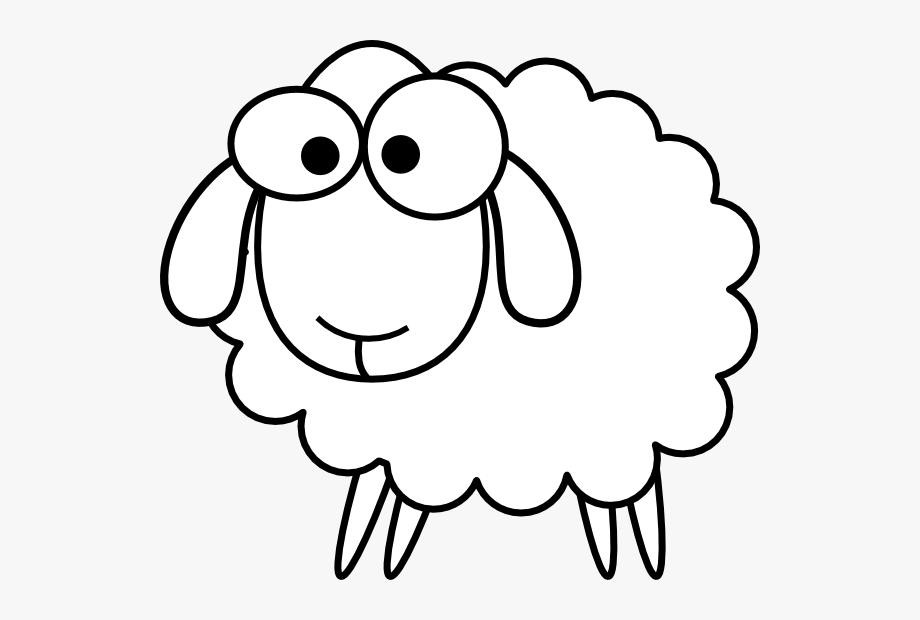 Outline Sheep Svg Clip Arts 600 X 540 Px.