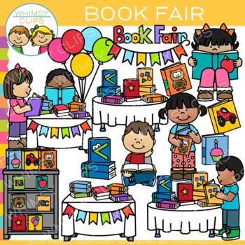 Book Fair Clip Art.