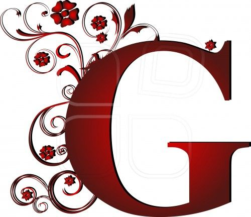 capital letter G red, abstract, alphabet, alphabetic.