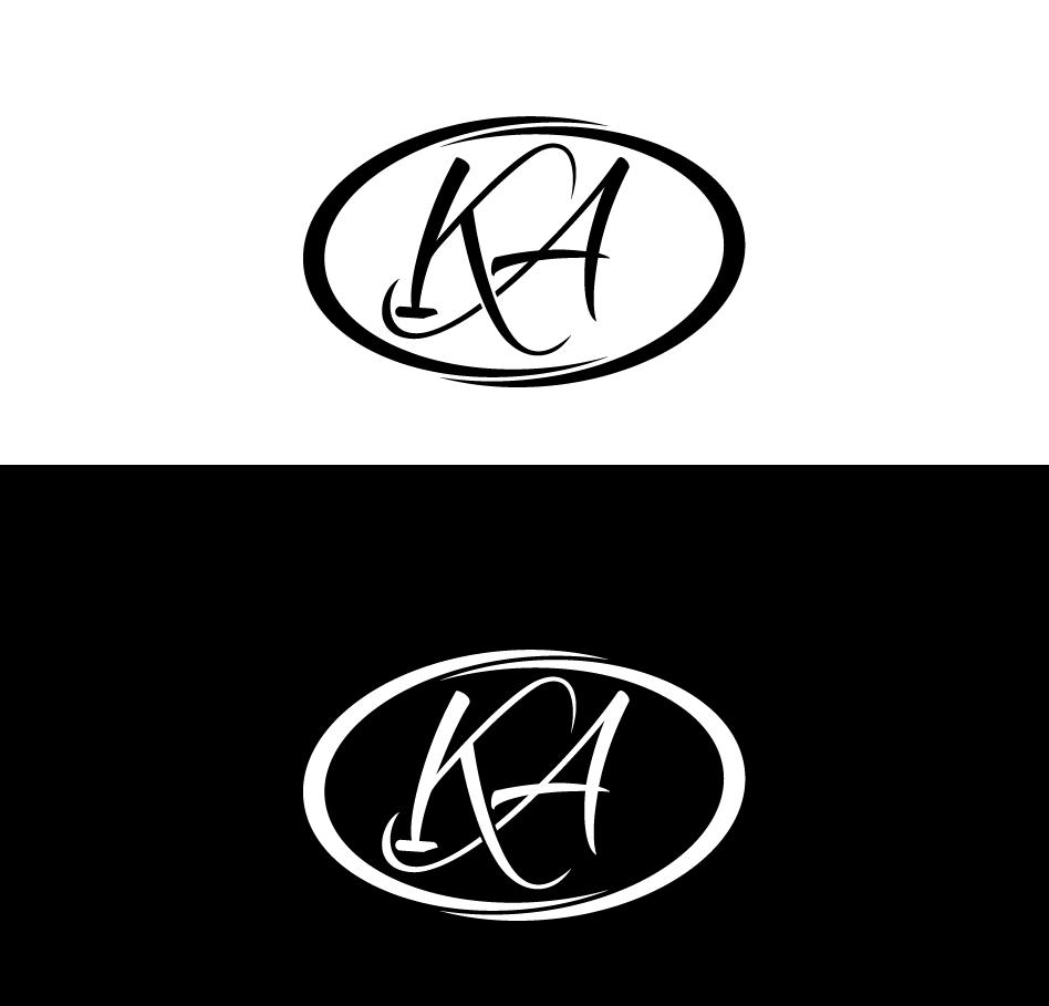 Elegant, Traditional Logo Design for KLA or KA (intials) by.
