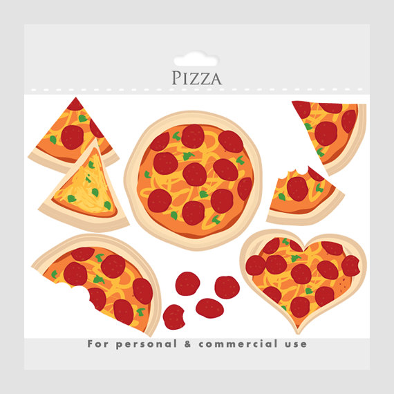 Artsy pizza clipart clipart images gallery for free download.