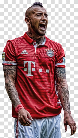 Arturo Vidal transparent background PNG cliparts free.