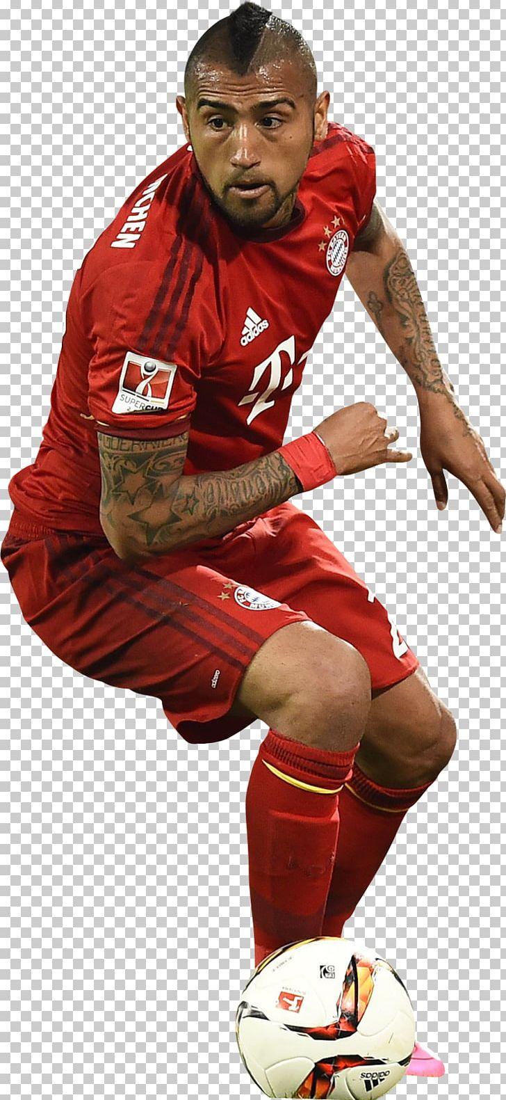 Arturo Vidal FC Bayern Munich Football Player PNG, Clipart.
