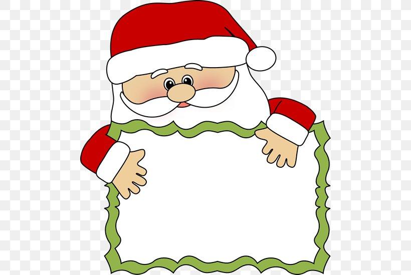 Santa Claus Christmas Free Content Clip Art, PNG, 500x549px.