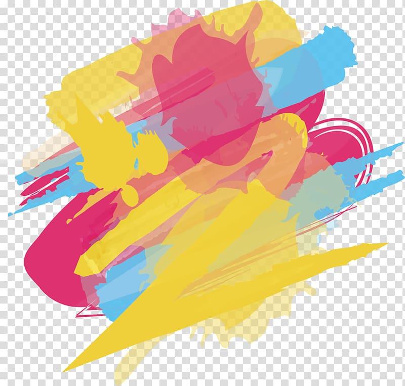 Multicolored graphic artwork, Graffiti Wall, Color graffiti.