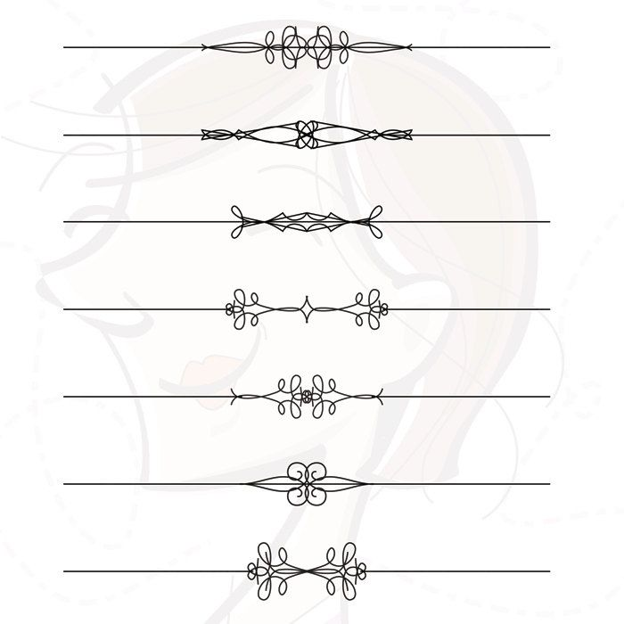 BEST SELLER Page Dividers Clipart.