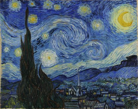 Image result for clipart van gogh.