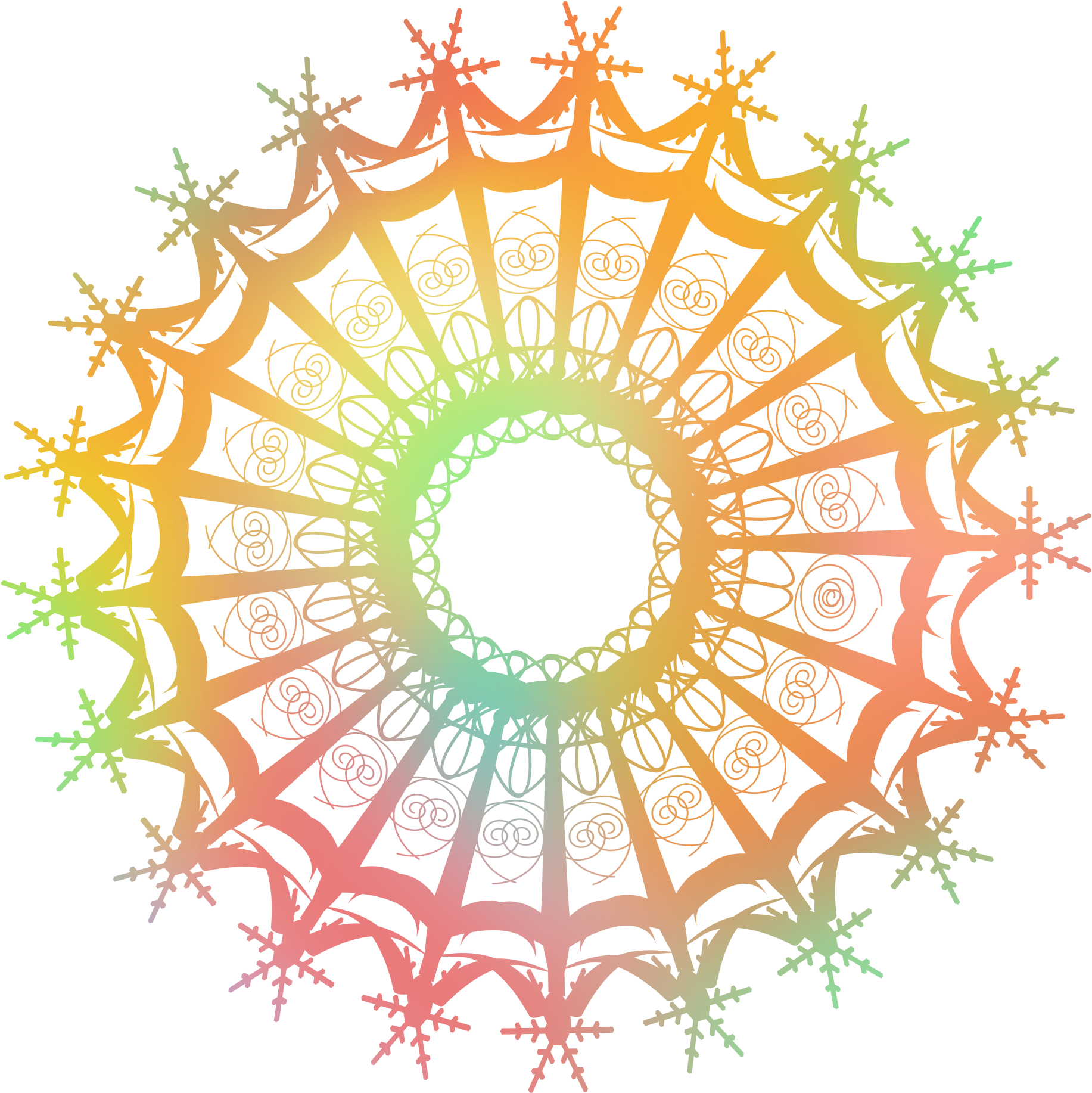 Download Irregular Spiral Gradient Pattern Creative Geometry.